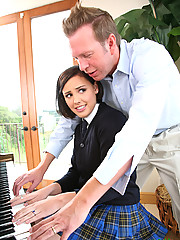 Brooke Adams Learns To Play Studs Hard Organ