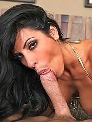 Busty milf doing anything to get a big dick to fuck her mature pussy