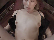 Teen blonde and her boyfriend make a homemade sex tape