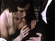 Two classic ladies pleasing their baron his stiffy cock