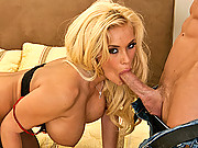 Miss Stylez gets Johnny Sins massive cock in her tight slit