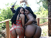 Black whore with huge asses get pounded hard!