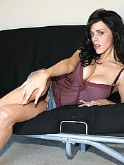 Watch sexy milf Arianna Labarbara spit and slobber all over a huge cock, then she teases you with some nasty dirty talking until a massive load of jizz bursts onto her face and hands! Oh fuck yeah says Arianna. I know your gonna make that cock cum for me.