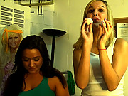Watch my hot college dorm party get wild in these hot double cock sucking 4some group sex vids