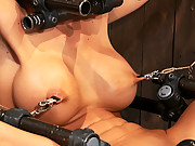 Phoenix Marie, bound, spread and made to cum, anally violated to orgasm.