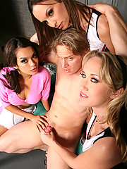 Alana, Amber and Daisy were three pissed of cheerleaders with a jones to get revenge of that awful football coach.