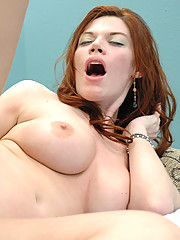 Roxetta was a firey red head that loved to gag on cock but that was only the beginning.