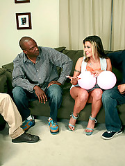 """Winner of numerous awards including """"Dirtiest Girl in Anal Porn"""" - """"Best Oral Sex"""" and """"Best Group Sex Scene"""" you'll be thrilled by the non-stop sucking, deep hard fucking, XXX anal, double penetration interracial sex action th"""