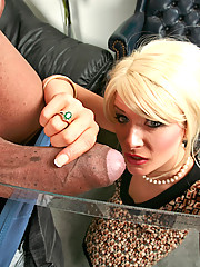 Kira could barely get her mouth around Sledge Hammer's big black dick, so she spread her shit nice and wide to see if Sledge's sausage was a better fit for her pink pussy.