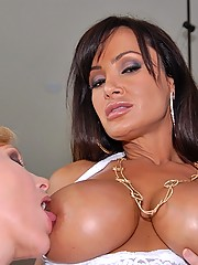 Lesbian pornstars meet each other at home away from husbands eyes they start sucking and fucking each other premium hot big ass and huge tits