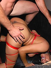 Hot blond and sexy brunet do two dudes in the vip section hot blond with huge ass brunet huge rack