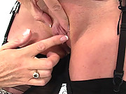 Lady sonia dominates milf holly