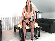 Strap on fucking lesbian matures