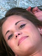 Amateur POV video with Little Caprice