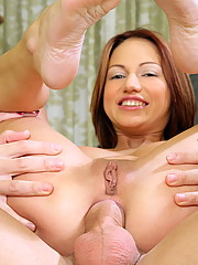 Teen Wendy got her tight asshole and pussy fucked