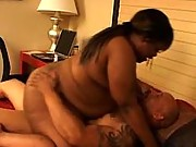 Hot and heavy black fatty on top