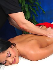 Hot 18 year old Hungarian Princess gets fucked hard by her massage therapist