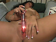 Diana Plays With Her Favorite Toy And Then With Her Favorite Cock