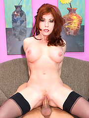 Redhead MILF Sells Herself On The Corner