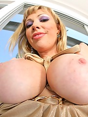 Watch hot superstar porn star adriana nicole show her amazing big tits poolside then cumfaced after a hard fuck
