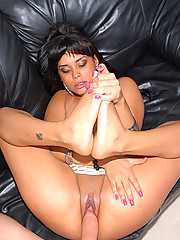Watch this hot fucking hot pants latina get nailed in her tight box after getting picked up in these reality fucking pics