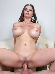 Yummy whore with amazing big naturals loves fucking