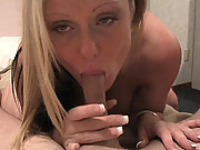 Kelly Enjoys Her Boyfriends Cock All Day Long Until It Pops