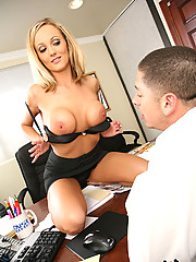 Hot Blonde Sara Beth Rammed Up The Ass With Fat Cock Stretching Her Open