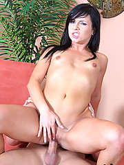 Tight little Spinner Ashli Orion Slammed With Wide Cock And Ass Jizzed