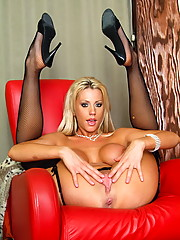 Tanya James is our resident sex on wheels girl