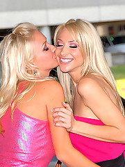 2 sexy fucking lesbian teens dildo fuck eachothers box in these lesbo pics