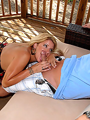 Hot fucking mini skirt milf gets fucked on a 4 wheeler motorcycle in these hot pics
