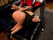 Wife punished by husband and hooker with anal and bondage.
