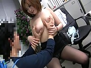Boobs in Office