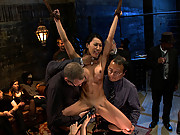 Tia Ling gets tied up tight and dicked down hard. And when I say hard, I mean really fucking hard.