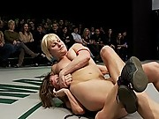 4 girls wrestling in the only non-scripted catfighting on the net!  Brutal real sex fighting!!