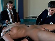Slave girl serves sadistic Masters of dominance and submission