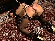 Sex slave hired to service the Upper Floor