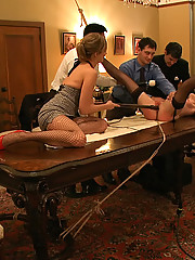 Hot slave girl is tested and tried as a sex slave