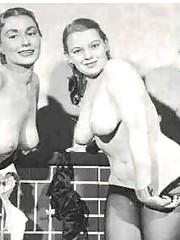 Real horny vintage topless girls with boobies