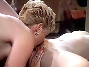 Vintage lesbians eating eachothers pussies