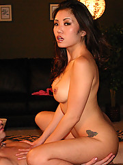 Kaiya may look and act submissive but she is one hot firecracker when it comes to fucking.