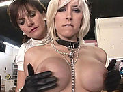 British mature kinky lezdom action