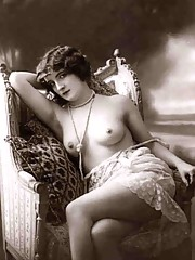 Only partly dressed chicks from the twenties