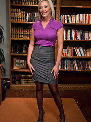 Sexy CEO bound and fucked in the ass by janitor.