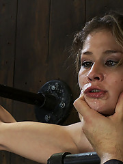 It turns out you can almost kill someone with orgasms.  Felony is made to cum and she literary squirts about 1/2 a gallon of cum.