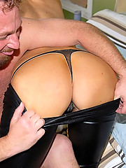 Check out hot long leg hot ass mini skirt milf takes a mega dong deep in her box in these hot reality fucking pickup pics