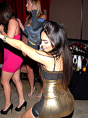 Super hot fucking sasha and her sexy college babe mini skirts hit the club to fuck in these hot after hour banging group sex pics