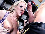 Hot milf enjoys a huge cock
