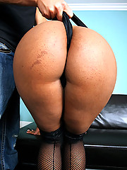 Super thick ass black babe rides a big dong in these big ass titty fucking cumfaced hot pics
